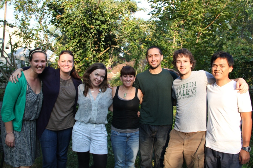 Vogel Lab, from left to right: Alysse Moldawer, Elizabeth Ballare, Wendy Erb, Erin Vogel, Shauhin Alavi, Timothy Bransford, Didik Prasetyo